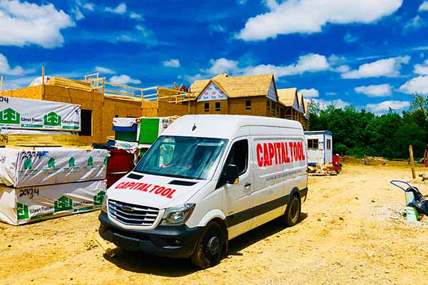 We provide tool delivery services to contractors on site